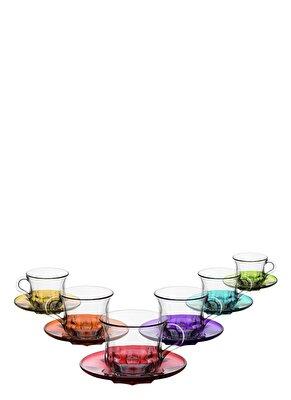 Resim Liza Renkli Tabaklı